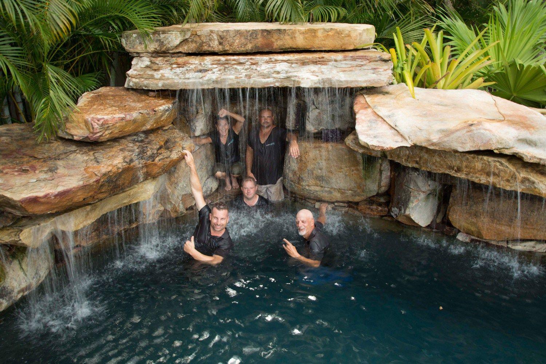 The Crew Lucas Lagoons Insane Pools Pool Builders Insane