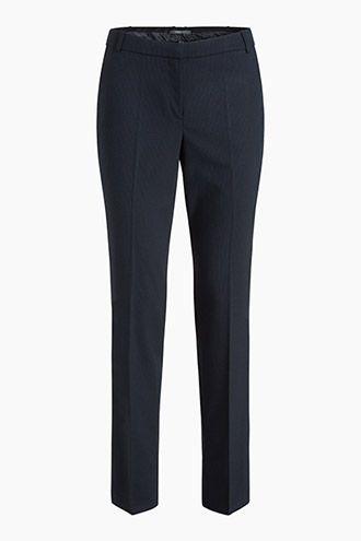 Pantalon Tailleur Casual Rayé Esprit Style De A0wxAdT