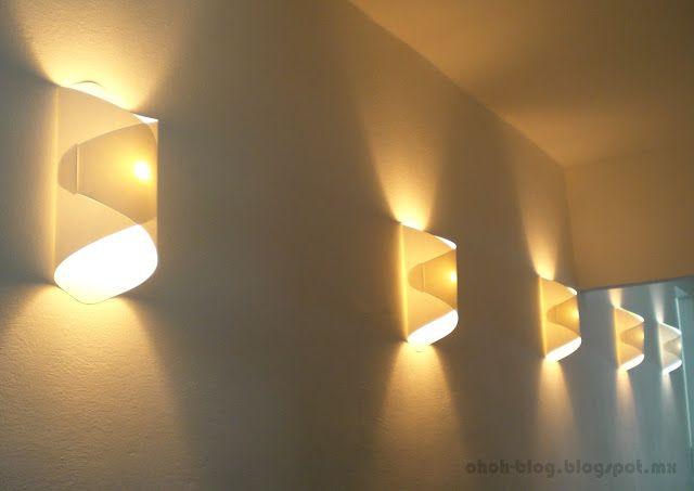 Paper Lamp. Tutorial: http://www.ohohblog.com/2012/10/diy-paper-lamp-lampara-de-papel.html