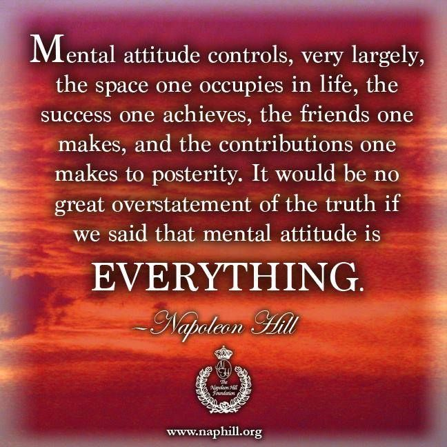 Wisdom From The Hill A Series Of Quotes From Napoleon Hill Napoleon Hill Quotes Napoleon Hill Mental Attitude