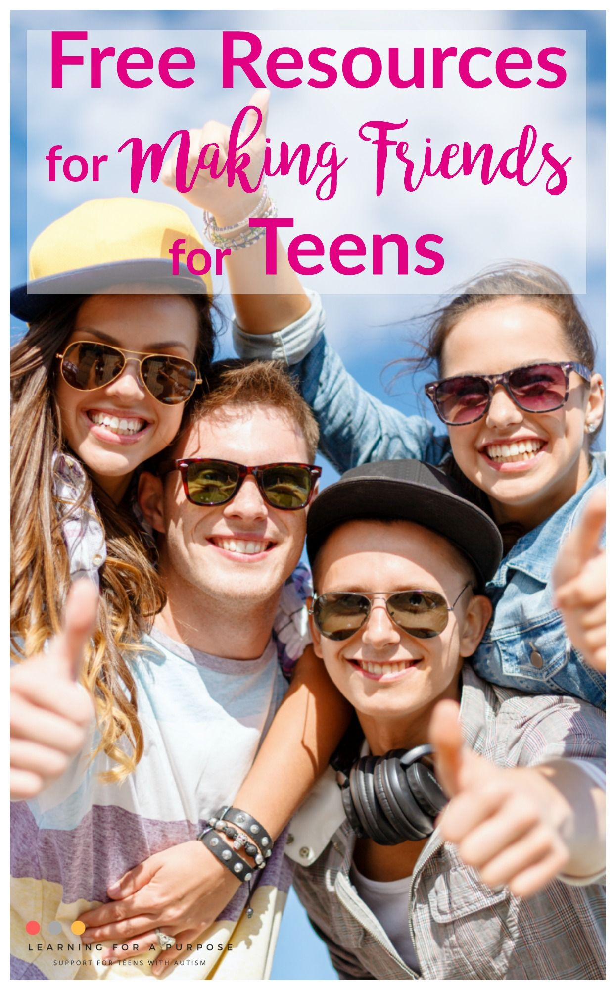 Free Resources For Making Friends For Teens In