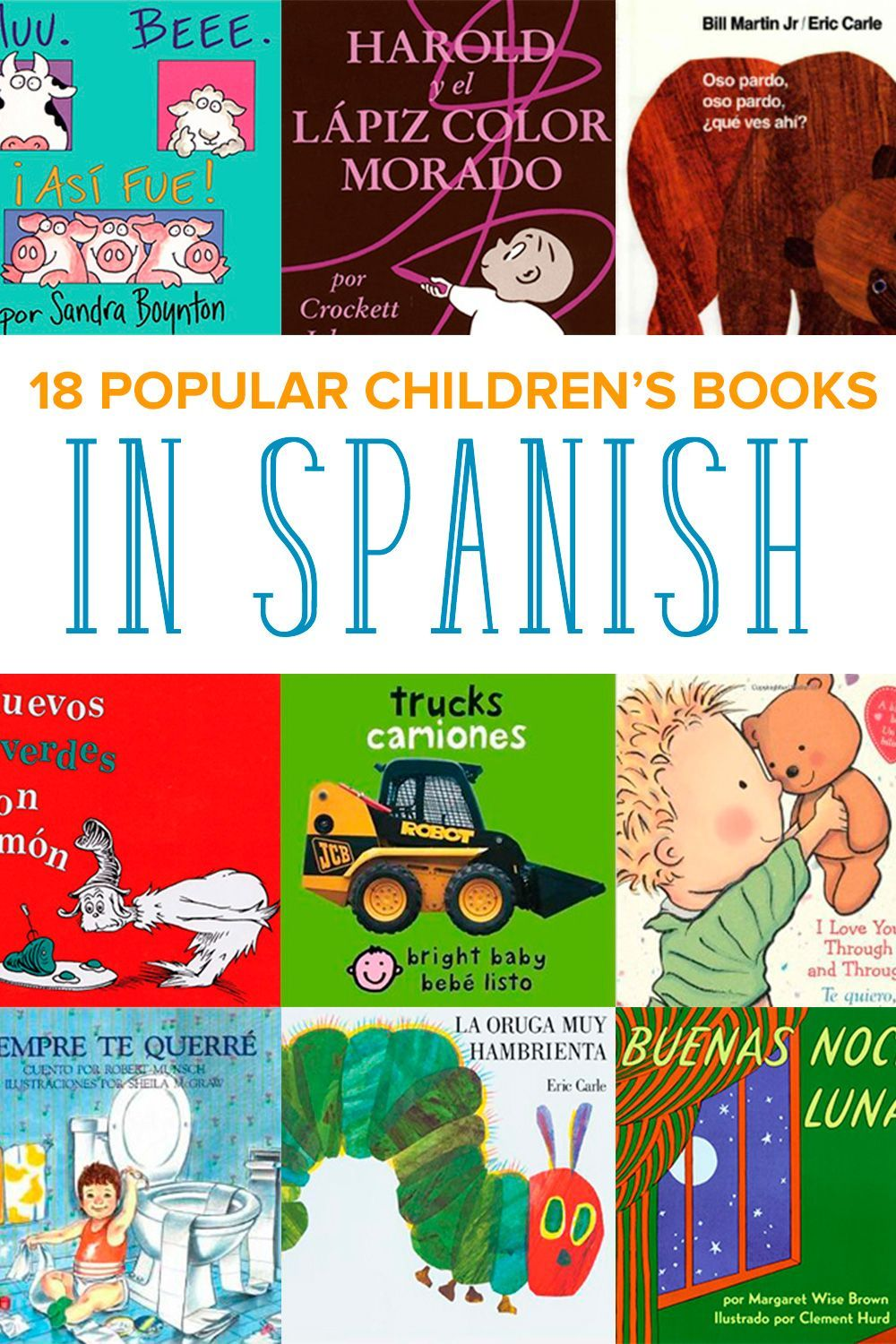 Read your favorite popular childrens books in spanish