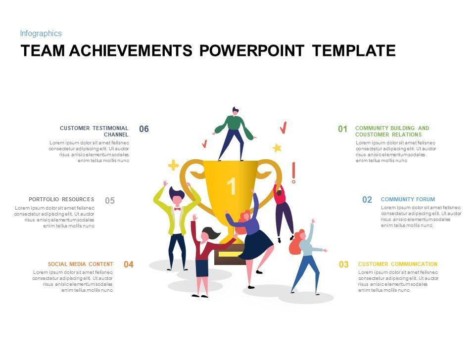Team Achievement Ppt Templates For Powerpoint Keynote Powerpointtemplates Powerpointslide Powerpoint Templates Achievement Powerpoint