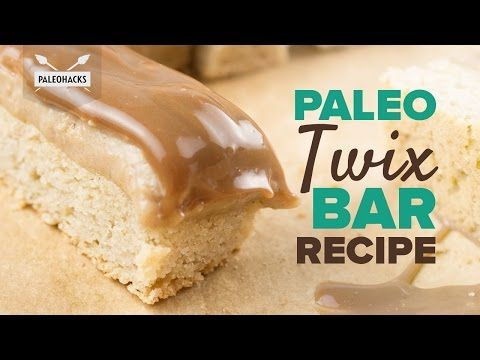 Paleo Twix Bar Recipe Coconut Flour Recipes Paleo Sweets