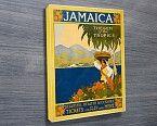 Jamaica Vintage Travel Poster -  Print of a vintage travel poster for Jamaica, by Thomas Cook http://www.bluehorizonprints.com.au/canvas-art/vintage-posters/Jamaica-Vintage-Travel-Poster/ - Canvas printing - Photo on canvas - Birthday present ideas - Wall art