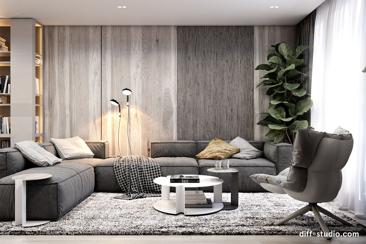 Modern Functional Apartment In Moscow On Behance Interior