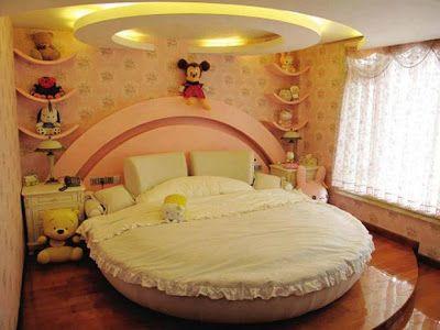 Dise o de dormitorios infantiles para ni as dise o y for Decoracion hogares infantiles