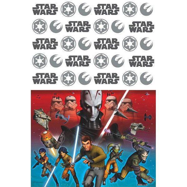 Star Wars Rebels Plastic Table Cover