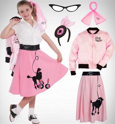 Girls\' Pink Lady | Halloween | Pinterest | Pink lady, Costume ...
