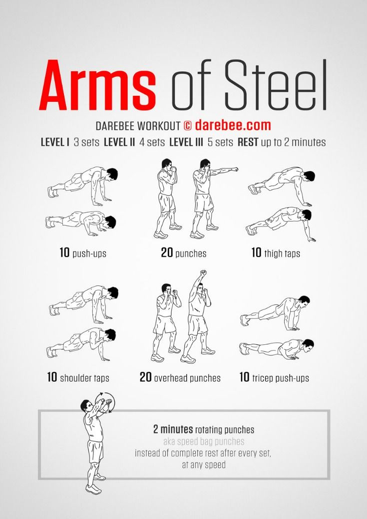 15 Super Easy Workouts To Tone Your Arms At Home (free