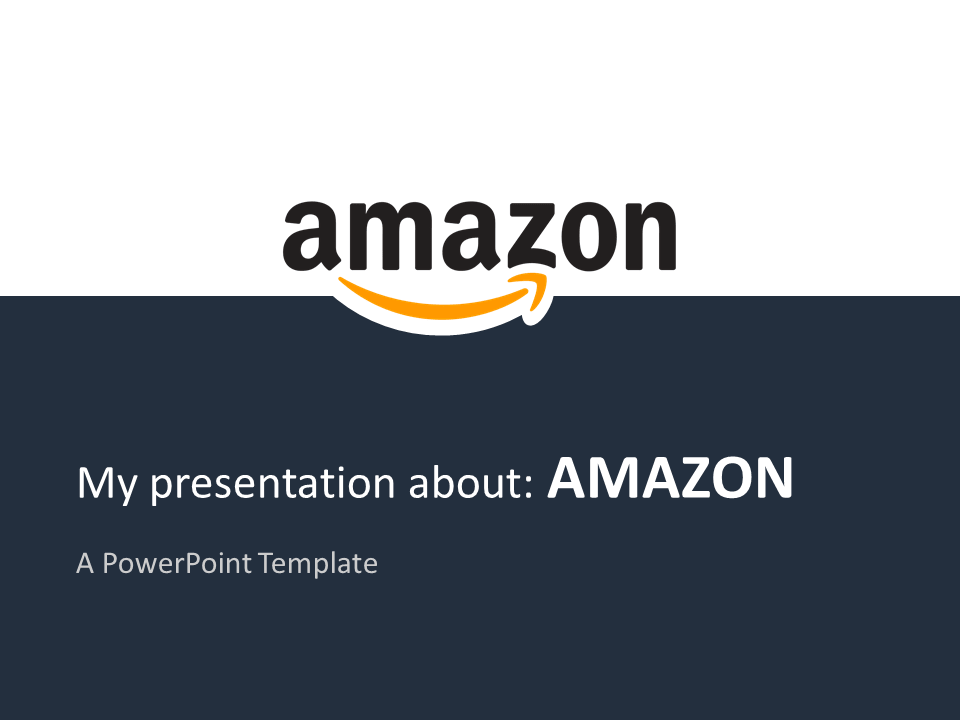 amazon free powerpoint template | top 100 global companies, Powerpoint templates