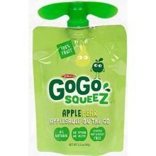GoGo SqueeZ Apple Pear On the Go Apple Sauce 32 Ounce  48 per case >>> Be sure to check out this awesome product. #DessertsPorn
