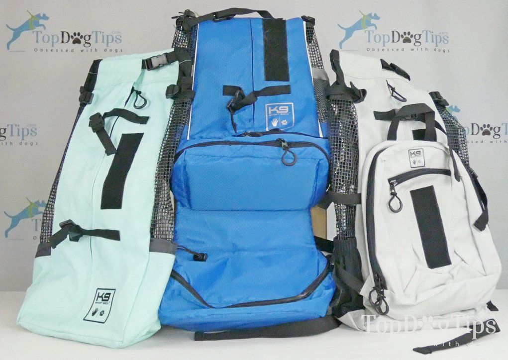 Review K9 Sport Sack Dog Backpacks AIR, AIR PLUS and