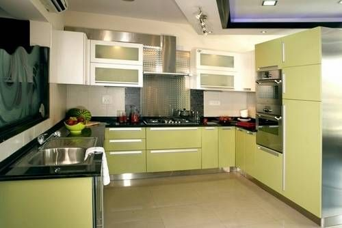 Modular Kitchen Color Combination Google Search