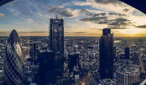 Panorama from Heron tower