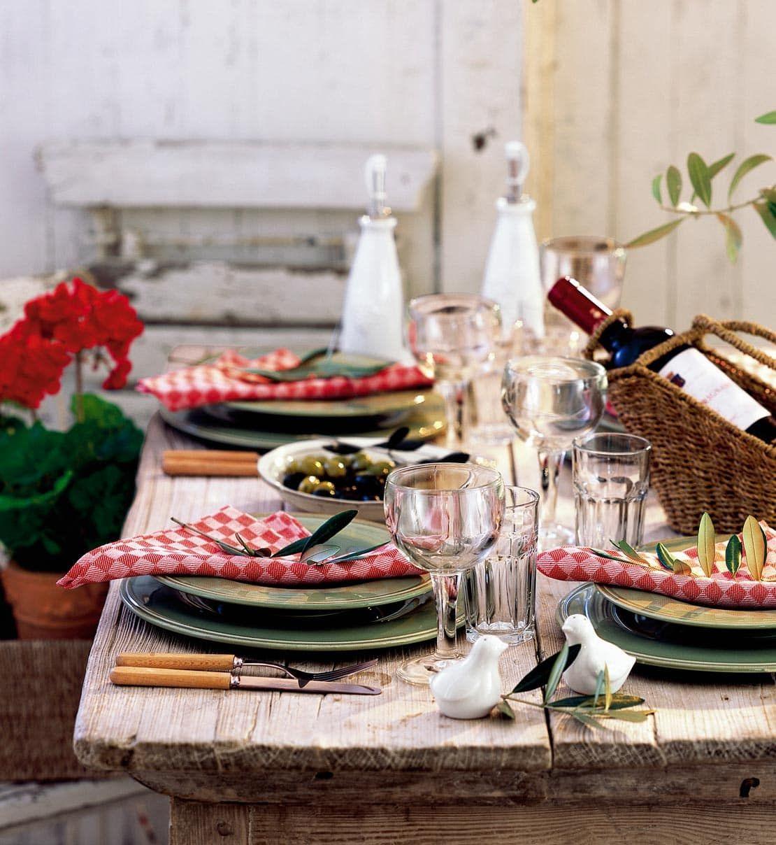 Speisen wie in Italien? Rezepte gibt\'s hier im | Tischdekorationen ...