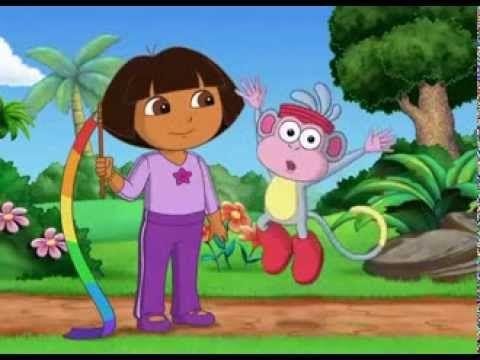 Dora Aventureira Em Ginastica Fantastica 2 Dvd Completo Em