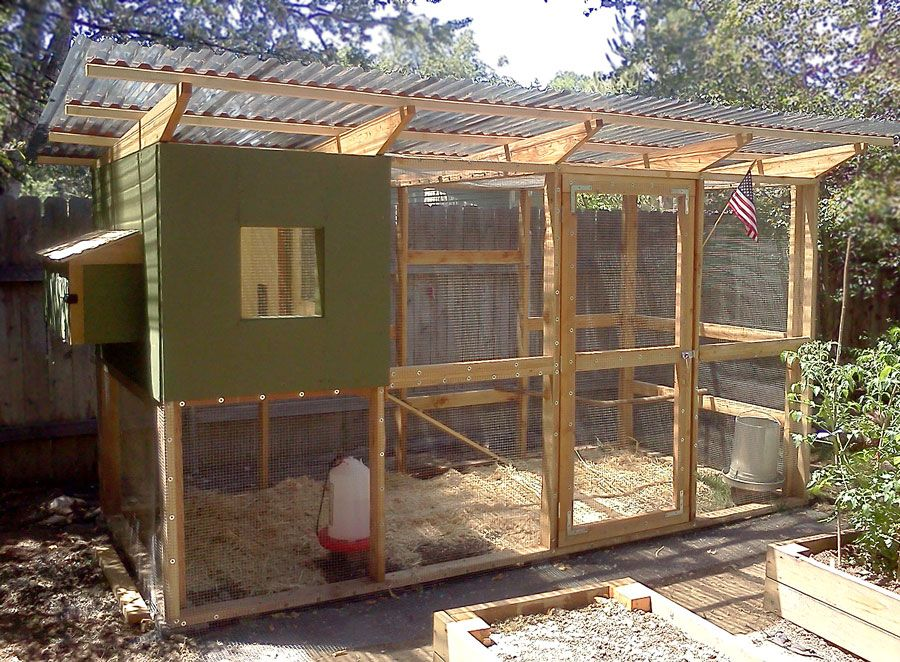 janet used the garden coop plans and modified the design to build rh pinterest com