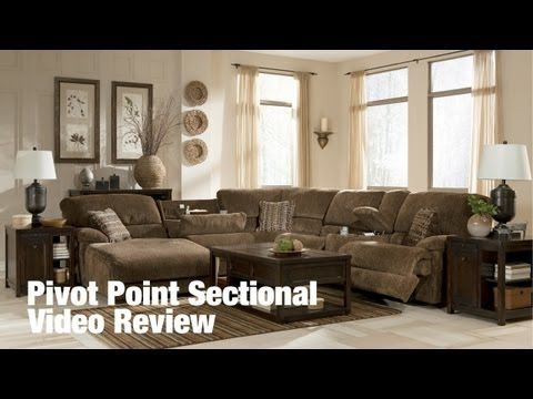 Pivot Point Sectional By Ashley Furniture Video Review