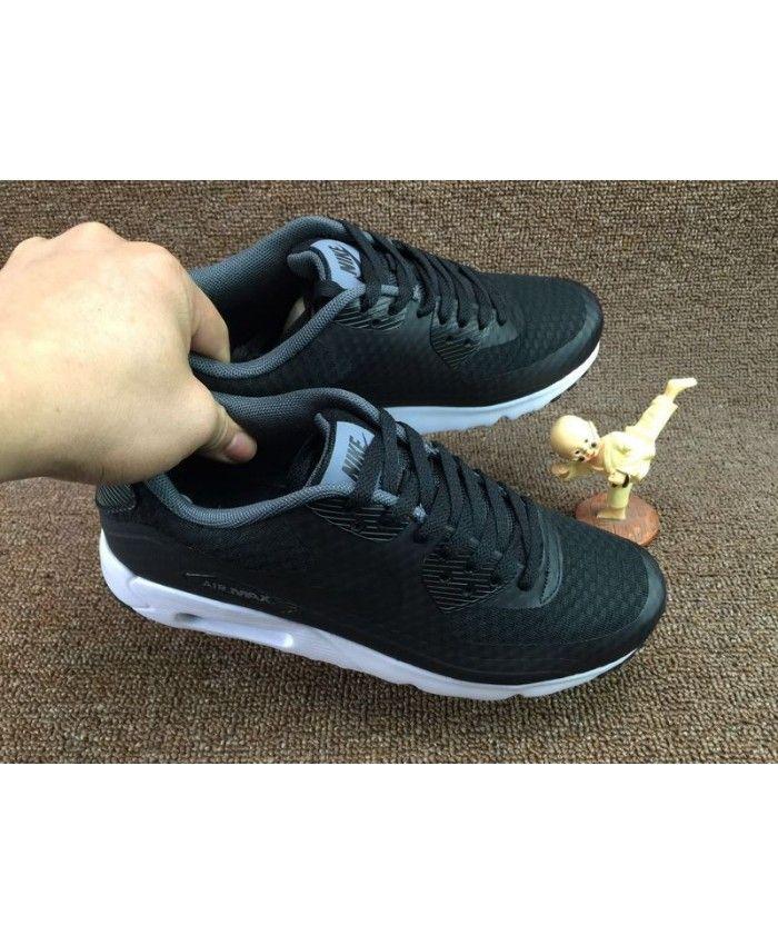 602420a9fe Nike Air Max 90 Ultra Essential Black Dark Grey Shoes Sale | nike ...