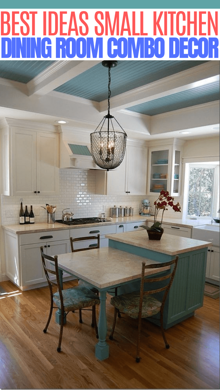 Applying The Small Kitchen And Dining Room Combo In Your House Small Kitchen Guides Kitchen Dining Room Combo Dining Room Combo Kitchen Dining Room