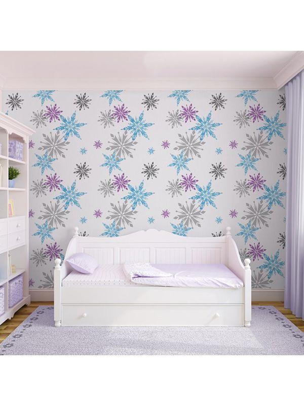 Disney Frozen Snowflake Wallpaper 70 541 Decor