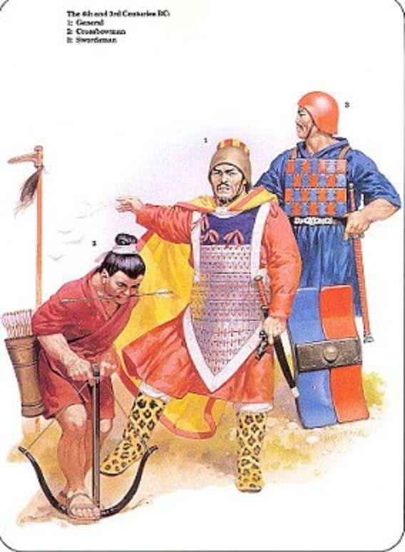Spring and Autumn Period Warriors (BCE 770 - 476 BCE)