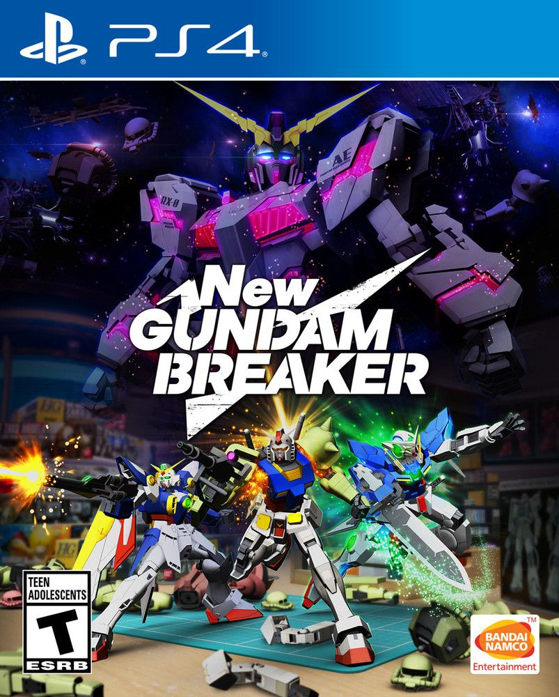 New Gundam Breaker PS4 Game Ps4 games, Video games, Games