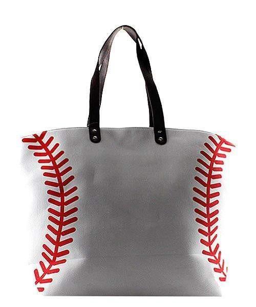 3da66999ead5 Baseball Print Canvas XL Tote Bag in 2019 | Baseball room | Bags ...