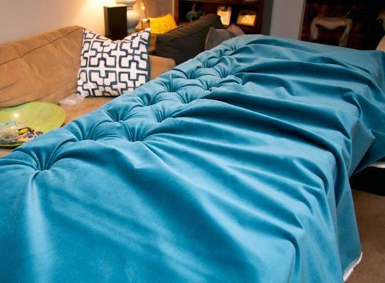 DIY Style on a Budget: How To Make a Tufted Velvet Headboard for $350