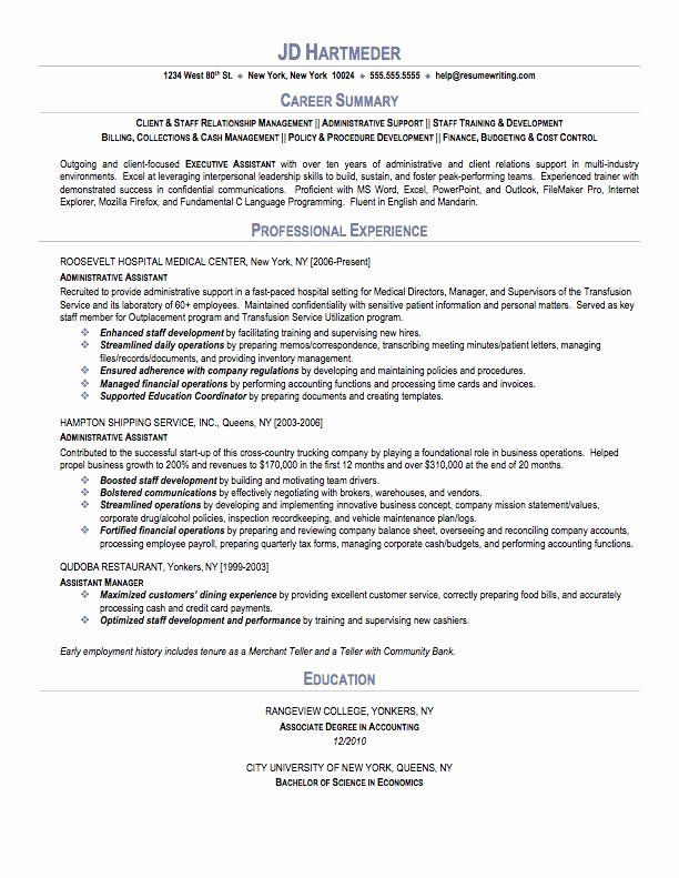 25 medical administrative assistant resume in 2020