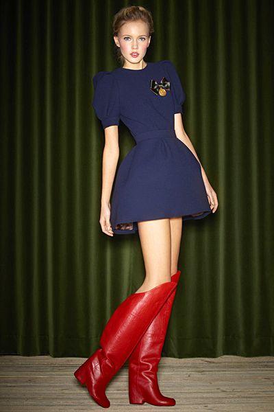 Ulyana Sergeenko - Ready-to-Wear - 2012 Fall-Winter   Mode, Haute couture, Style