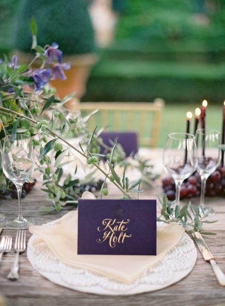 20 preciosos indicadores de mesa para los invitados de tu - Los detalles de tu boda ...