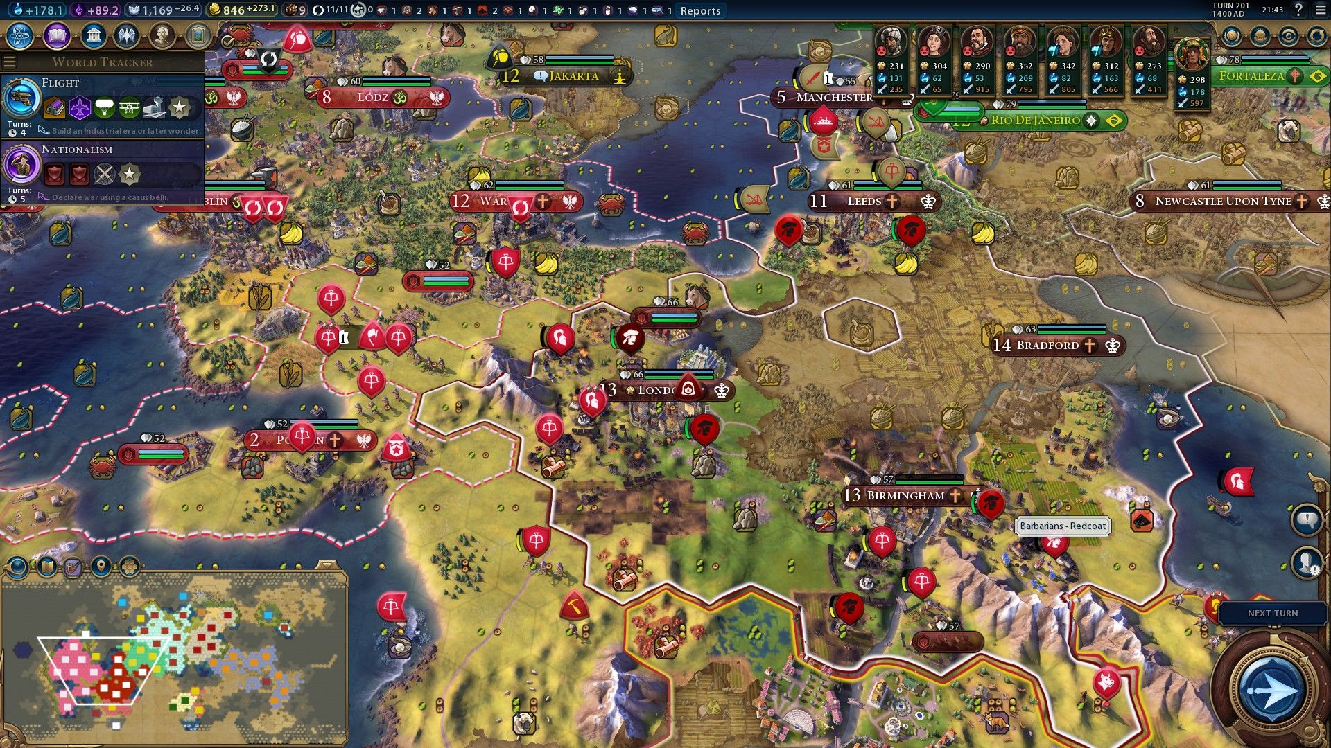 Perfidious Albion: Victoria halts Polish conquest with