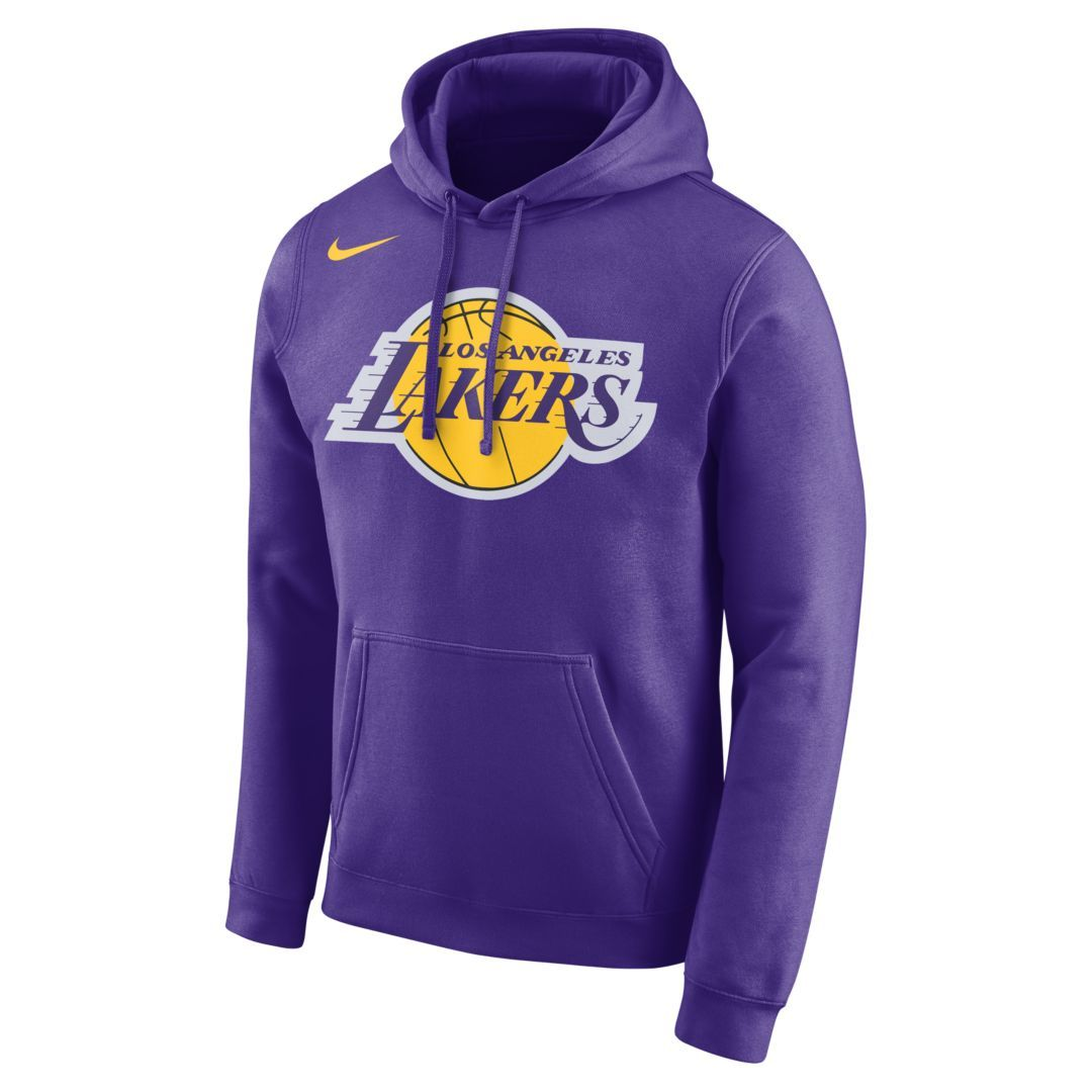 Los Angeles Lakers Nike Men's Logo NBA Hoodie Size 3XL