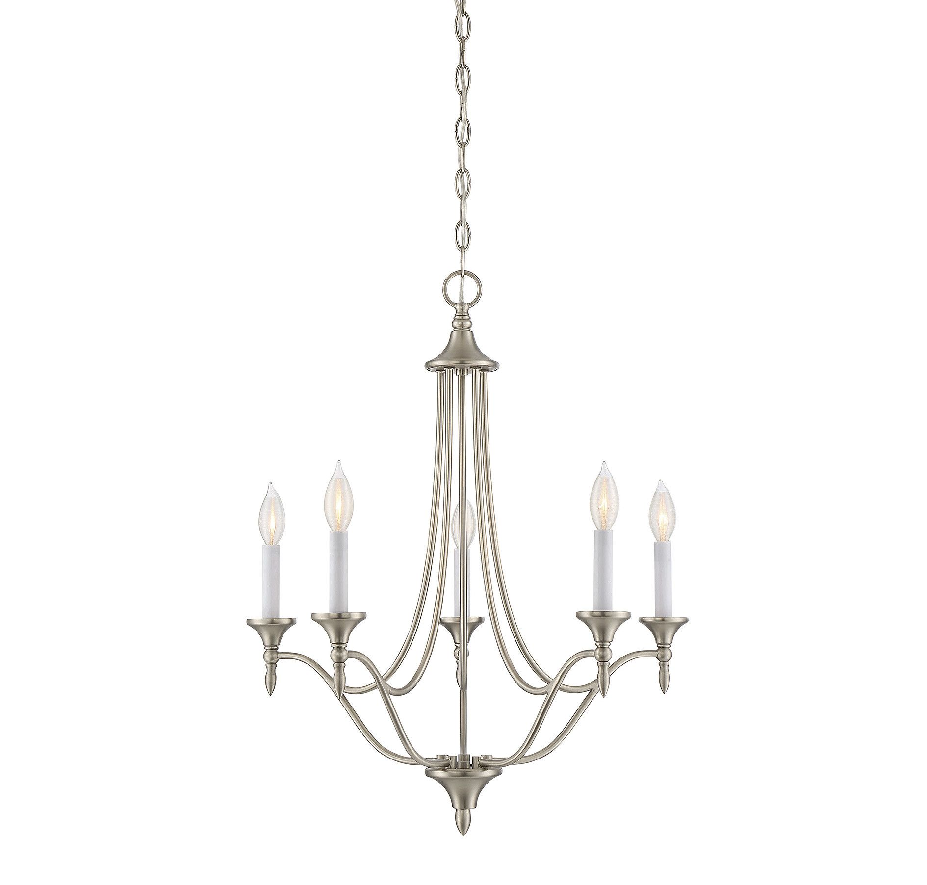 Lovington 5 Light Candle Style Chandelier Dining Room
