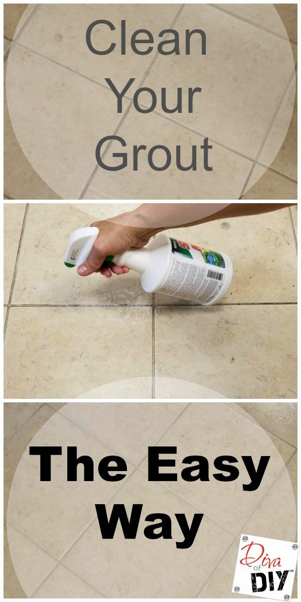 An Easy And Effective Way To Clean Grout Shower Remodel Diy Bathroom Remodel Cheap Bathroom