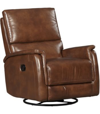 Living Rooms, Lucas Swivel Recliner, Living Rooms | Havertys Furniture.  Leather FurnitureReclinersSwivel Recliner ChairsLiving ...