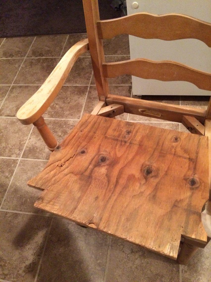 Refurbished chair