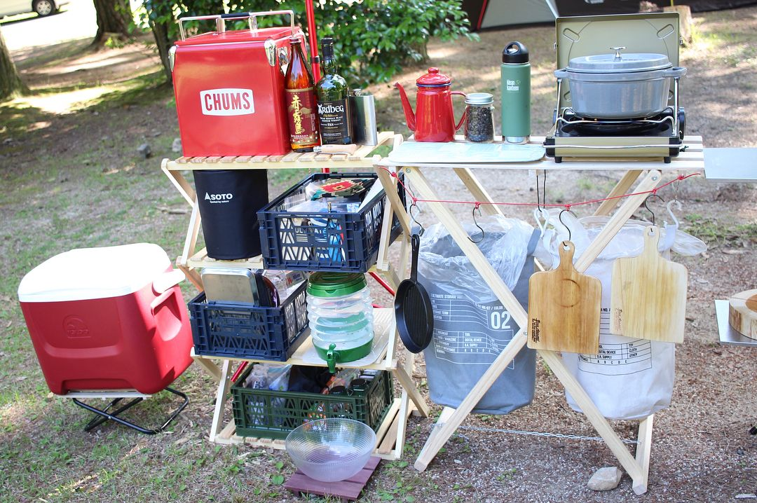 ボード キャンプ収納 のピン