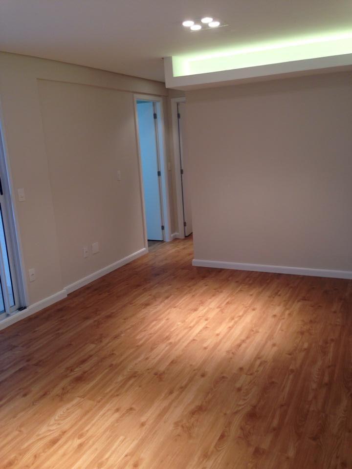Sala piso vin lico da durafloor linha loft cor monza - Vinilico para paredes ...