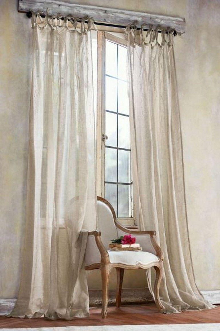 11 Pretty Tall Curtains Design Ideas For Living Room Fr