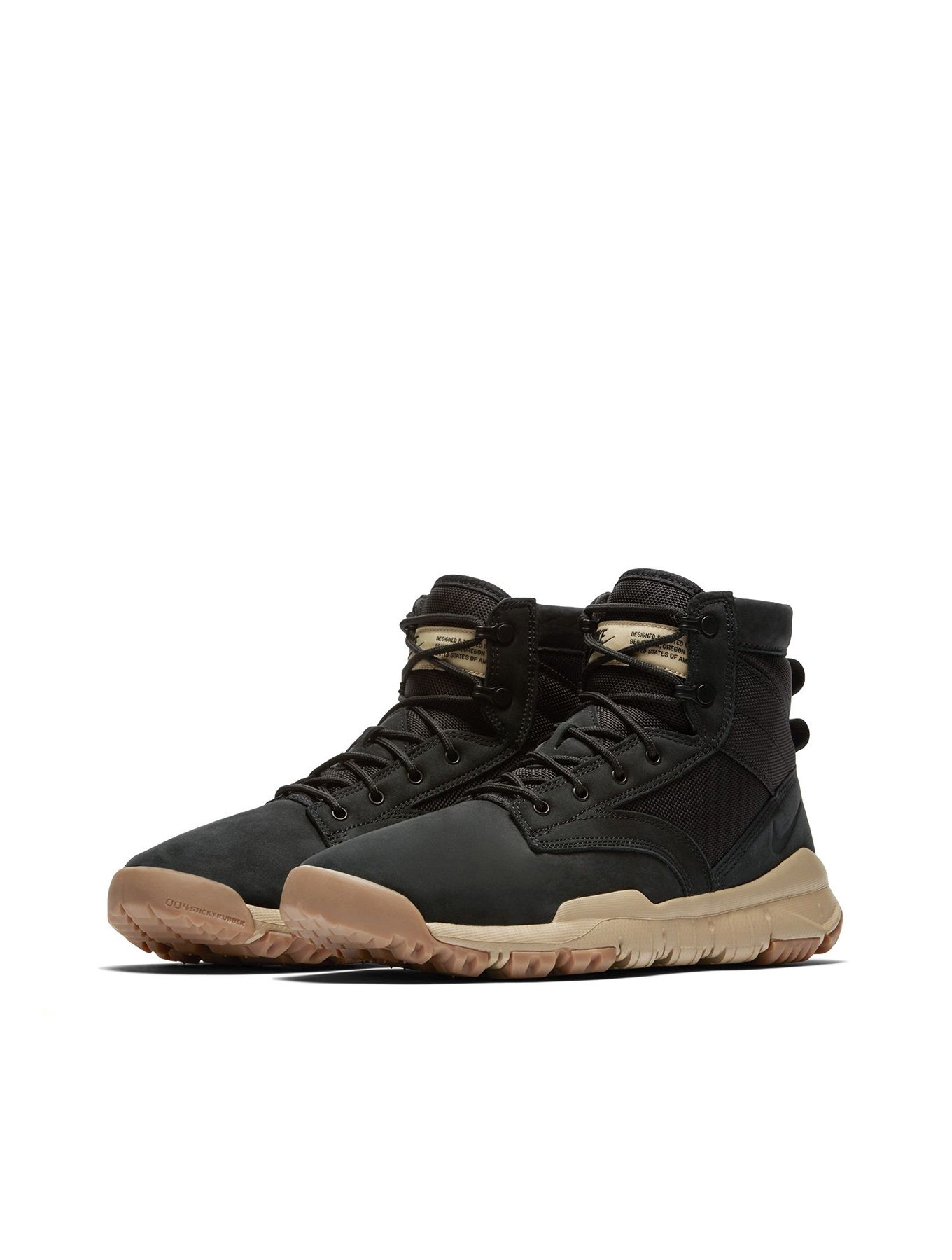 new product 4d1eb 620af Nike SFB 6 Inch NSW Leather Boot  Black Mushroom
