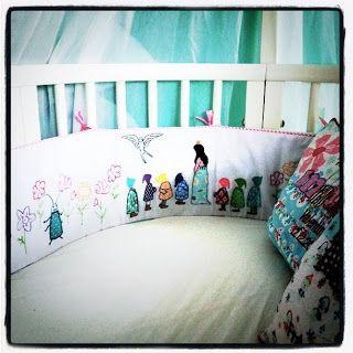 le monde de kitchi meine kissen pinterest kissen baby und baby nestchen. Black Bedroom Furniture Sets. Home Design Ideas