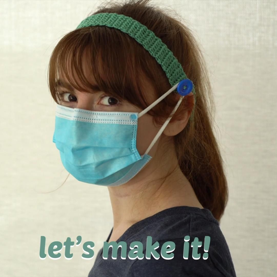 Photo of How to make an ear saver headband for face masks