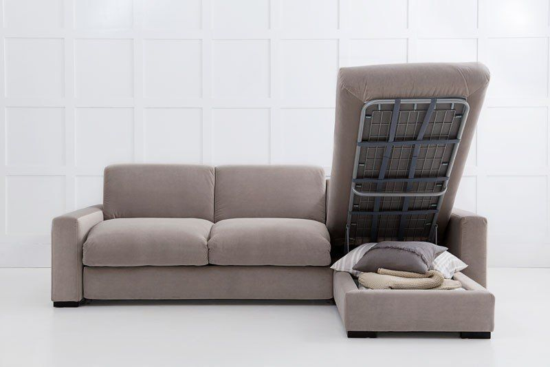 Henry Sofa Bed With Storage In Chaise