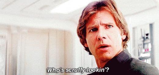Han solo scruffy looking