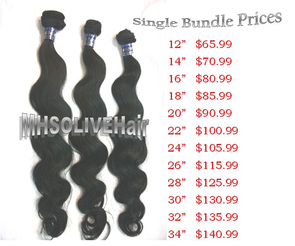 Bundle Pricing: Pin By MHSO LIVE On 100% Virgin Brazilian Hair