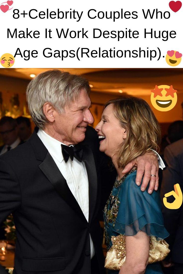 8+Celebrity Couples Who Make It Work Despite Huge Age Gaps