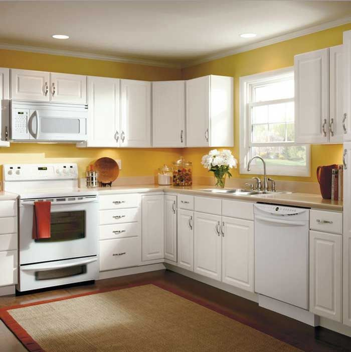 Kitchen Cupboards Cleaning  Effective Solutions To Clean Your Entrancing Kitchen Cabinets Menards 2018